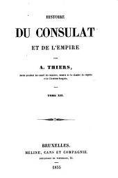 Histoire du consulat et de l'empire: Volume12