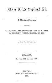 Donahoe's Magazine: Volume 25