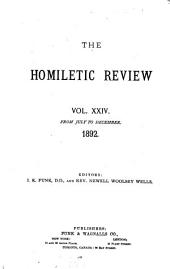The Homiletic Review: Volume 24, Issues 1-6