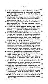 Zeitschrift für die gesammte Medicin mit besonderer Rücksicht auf Hospitalpraxis und ausländische Literatur: Band 17