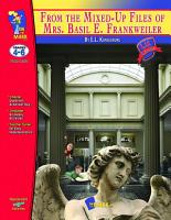 From the Mixed Up Files of Mrs  Basil E  Frankweiler Lit Link Gr  4 6 PDF