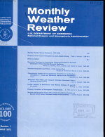Monthly Weather Review PDF