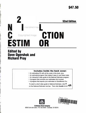 2004 National Construction Estimator PDF