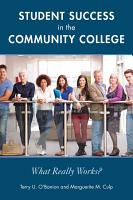 Student Success in the Community College PDF