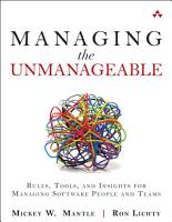 Managing the Unmanageable PDF