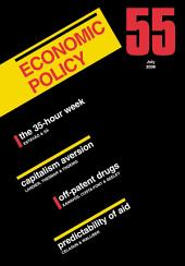 Economic Policy 55: Volume 55