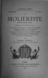 Le Moliériste: revue mensuelle, Volume9
