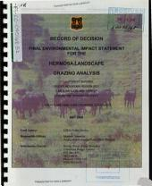 San Juan National Forest (N.F.), Hermosa Landscape Grazing Analysis for the Cascade Reservoir, Dutch Creek, Elbert Creek, Hope Creek, South Fork, and Upper Hermosa Allotments: Environmental Impact Statement