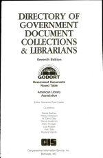 Directory of Government Document Collections & Librarians