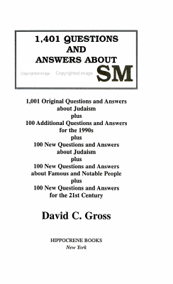 1 401 Questions and Answers about Judaism PDF