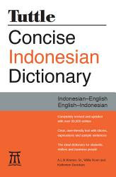 Tuttle Concise Indonesian Dictionary Book PDF