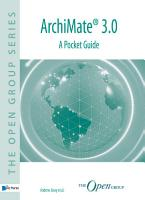 ArchiMate   2 1     A Pocket Guide PDF