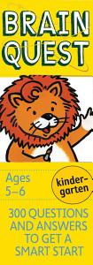 Brain Quest Kindergarten Book