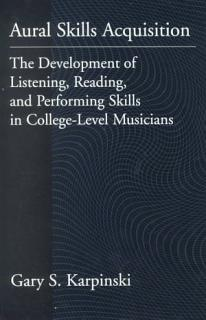Aural Skills Acquisition Book