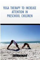 Yoga Therapy to Increase Attention in Preschool Children PDF