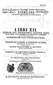 Historiae polonicae libri XII...