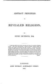 Abstract Principles of Revealed Religion