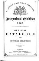 Official catalogue of the industrial department PDF