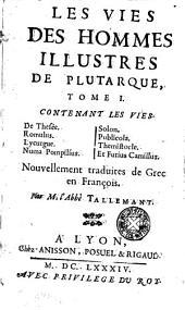 Les Vies Des Hommes Illustres de Plutarque: Volume 2
