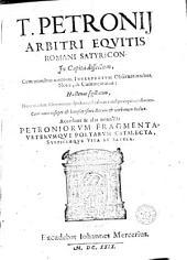 Equitis Romani Satyricon, cum omnibus omnium interpretum observationibus