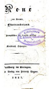 Sämmtliche Werke: René, Band 9