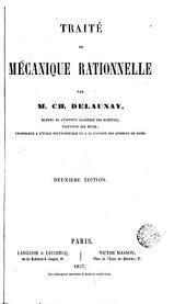 Traité de mécanique rationelle