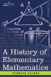 A History of Elementary Mathematics