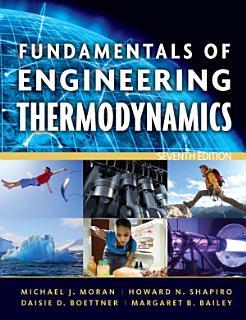 Fundamentals of Engineering Thermodynamics  7th Edition Book