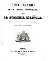 Diccionario de la lengua castellana  por la Academia espa  ola PDF