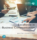 EXCELLENCE IN BUSINESS COMMUNICATION  GLOBAL EDITION  PDF