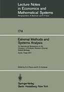 Extremal Methods and Systems Analysis