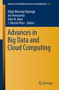 Advances in Big Data and Cloud Computing PDF