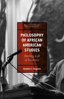 Philosophy of African American Studies PDF