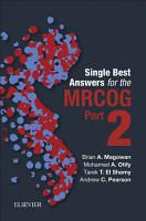 Single Best Answers for MRCOG PDF