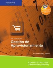 Gestión de aprovisionamiento : administración
