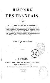 Histoire des français: Volume4
