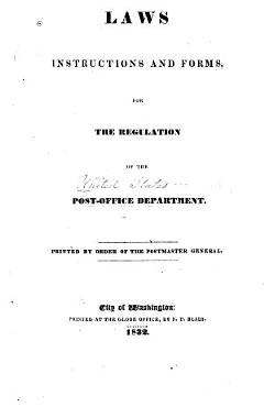 Laws Instructions and Forms  for the Regulation of the Post office Department PDF