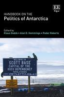 Handbook on the Politics of Antarctica PDF