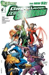 Green Lantern: New Guardians (2011-) #1