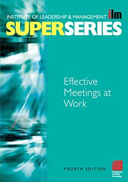 Effective Meetings at Work PDF