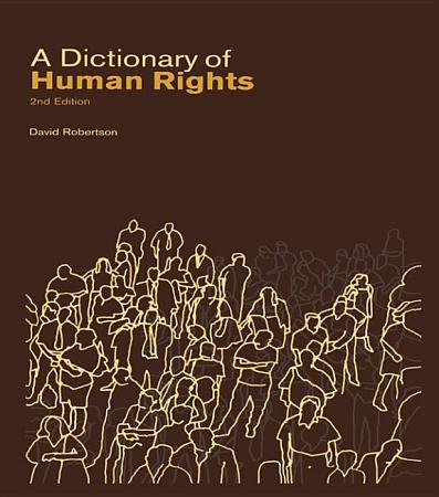 A Dictionary of Human Rights PDF