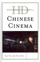 Historical Dictionary of Chinese Cinema PDF