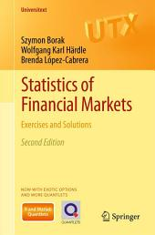 Statistics of Financial Markets: Exercises and Solutions, Edition 2