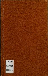 Nieuwe uitgave van de Missive van Willem V., erfstadhouder der Verenigde Nederlanden aan de Staten Generaal, gedateerd 17-01-1785