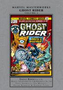 Ghost Rider Masterworks