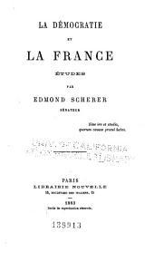 La démocratie et la France: études