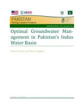 Optimal groundwater management in Pakistan's Indus Water Basin