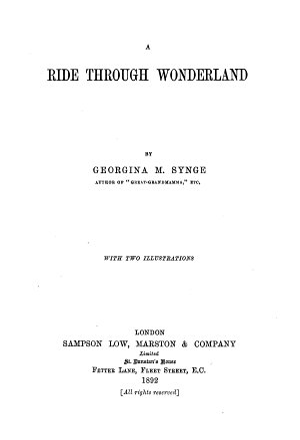 A Ride Through Wonderland PDF
