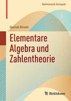 Elementare Algebra und Zahlentheorie PDF
