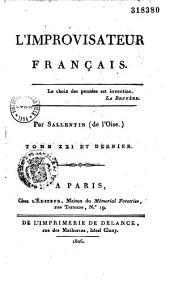 L'improvisateur français...